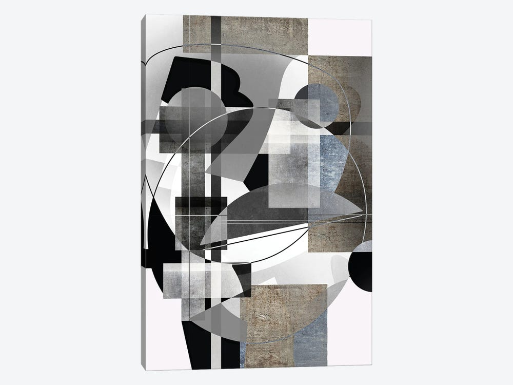 Structured by Roberto Moro 1-piece Canvas Artwork
