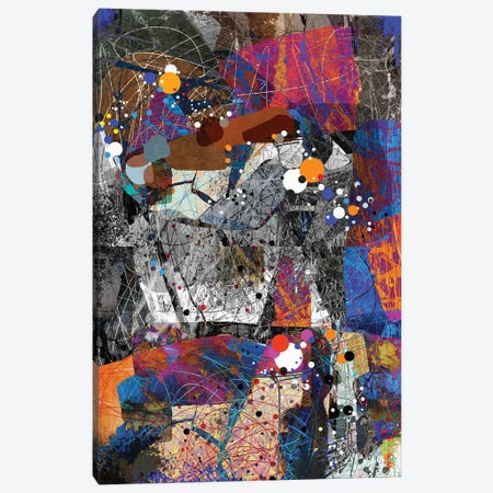 The Wonderful Chaos Canvas Print #ERT29} by Roberto Moro Canvas Print