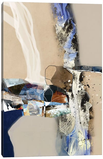 Elements Of Abstraction Canvas Art Print