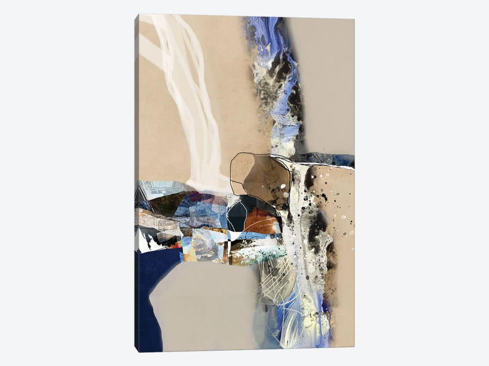 Elements Of Abstraction by Roberto Moro 1-piece Canvas Artwork