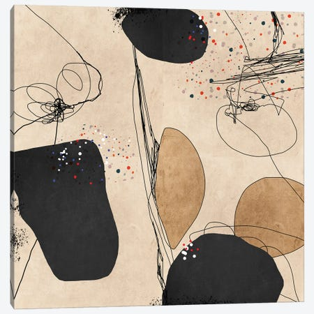 Give Me Five Canvas Print #ERT35} by Roberto Moro Canvas Print
