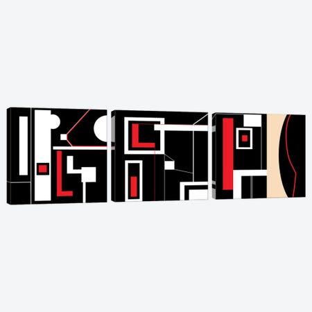 Framework Triptych Canvas Print Set #ERT3HSET001} by Roberto Moro Canvas Print