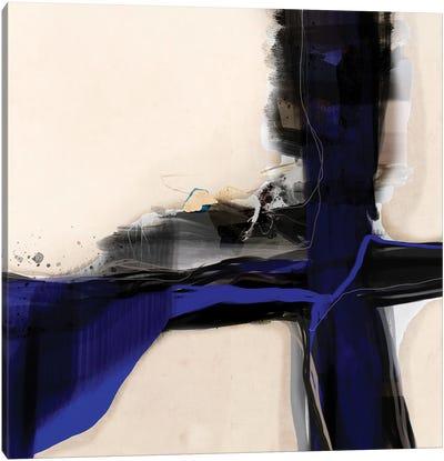 Blue Vein I Canvas Art Print
