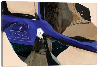 Blue Vein II Canvas Art Print