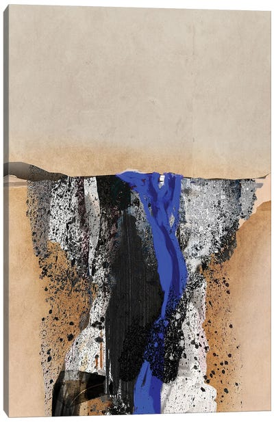 Blue Vein III Canvas Art Print