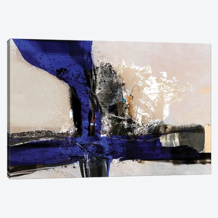 Blue Vein IV Canvas Print #ERT56} by Roberto Moro Canvas Print