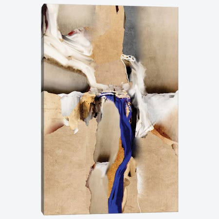 Blue Vein V Canvas Print #ERT58} by Roberto Moro Canvas Artwork