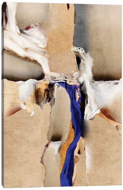 Blue Vein V Canvas Art Print