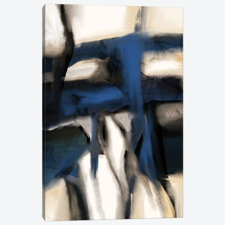 Rhapsody In Blue Canvas Print #ERT75} by Roberto Moro Canvas Art Print