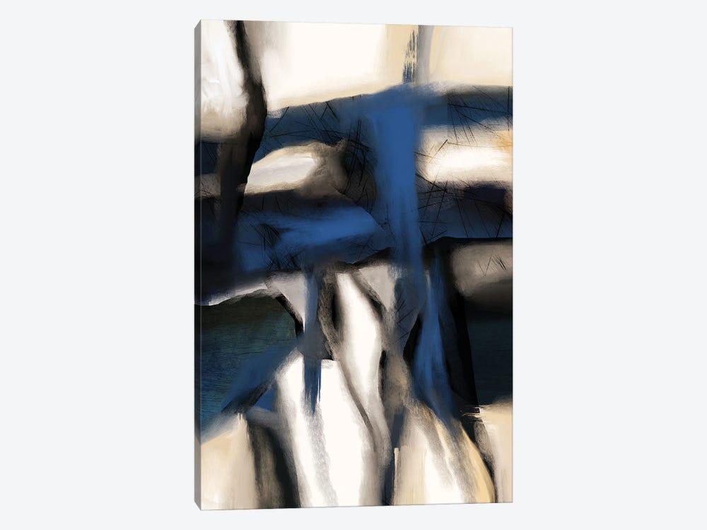 Rhapsody In Blue by Roberto Moro 1-piece Canvas Artwork