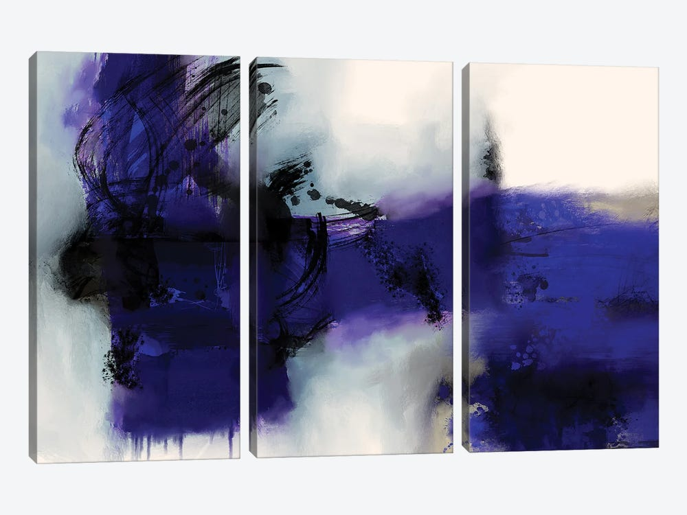 Time And Again by Roberto Moro 3-piece Canvas Print