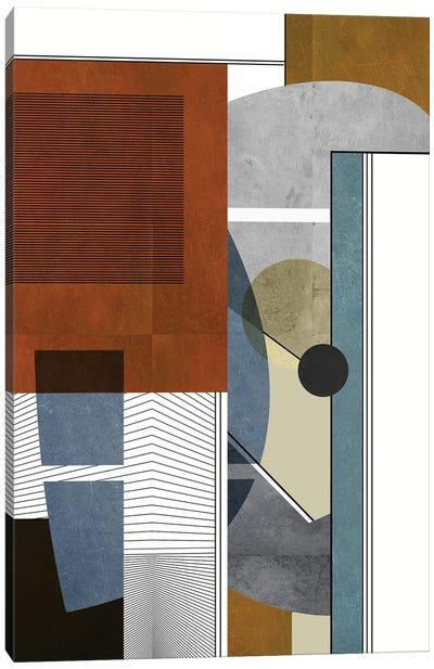 Construction Canvas Art Print