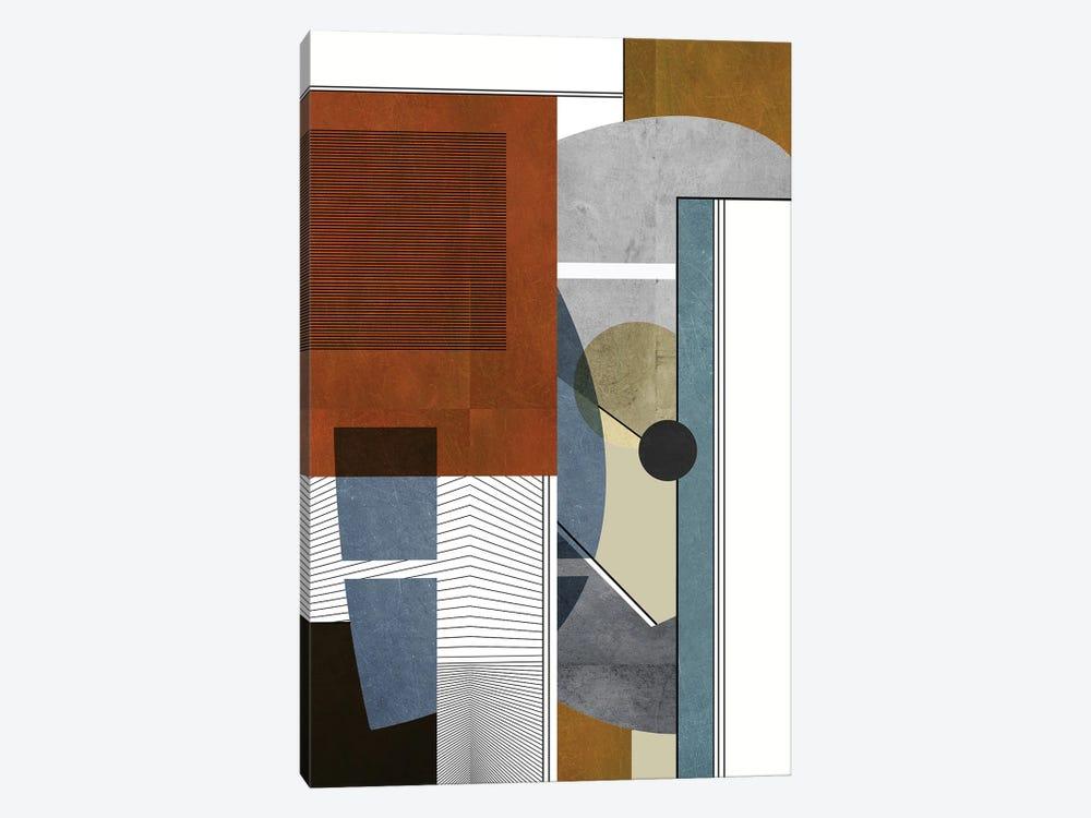 Construction by Roberto Moro 1-piece Canvas Artwork