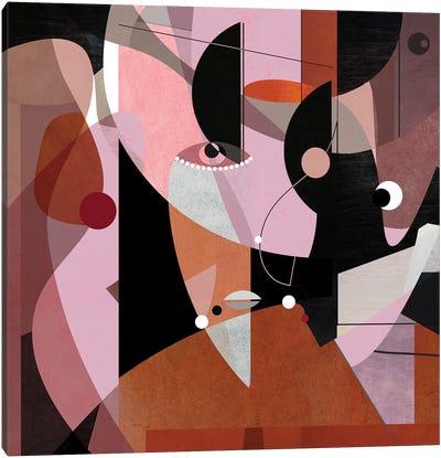 Ethno Canvas Art Print