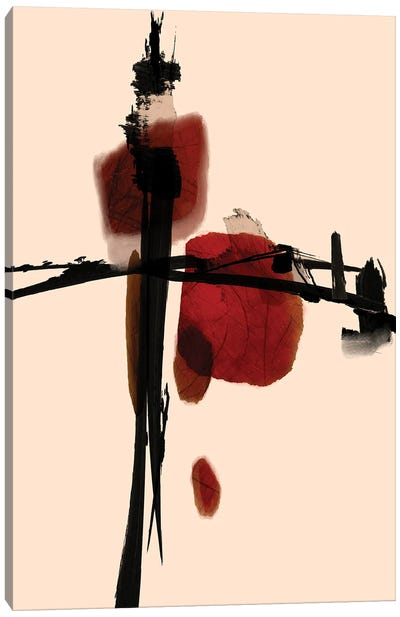 Asian Touch Canvas Art Print