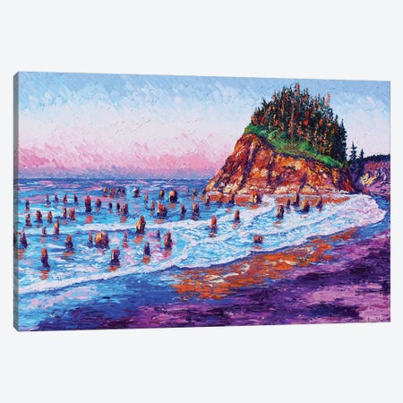 Sunken Forest Canvas Print #ERY10} by Eryn Tehan Canvas Art Print