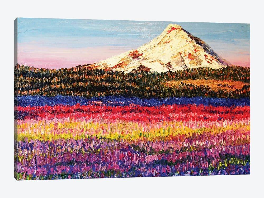 Lavender Fields by Eryn Tehan 1-piece Canvas Art