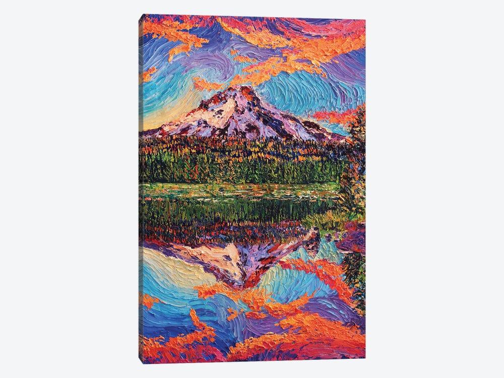 Mirror Lake Sunset by Eryn Tehan 1-piece Canvas Art