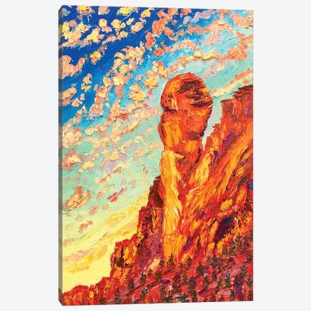 Monkey Face Rock Canvas Print #ERY24} by Eryn Tehan Canvas Print