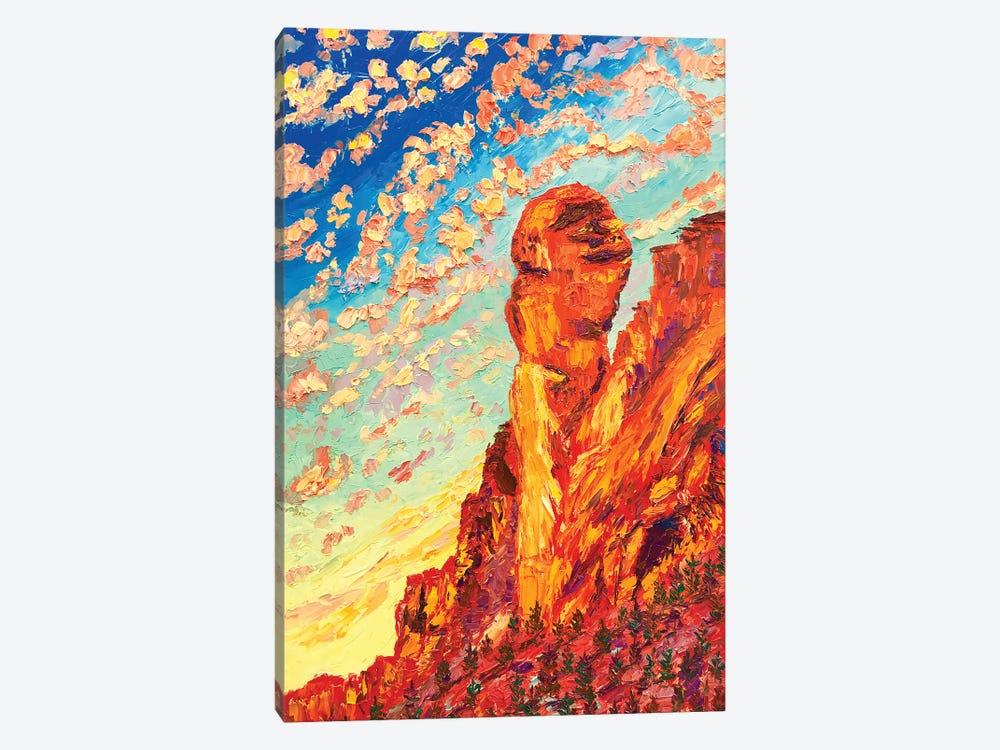 Monkey Face Rock by Eryn Tehan 1-piece Canvas Print