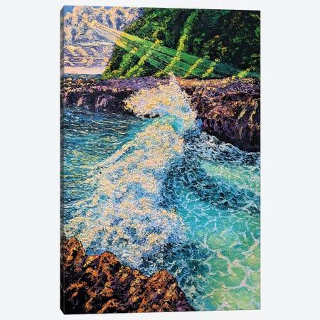 Perpetua Waves Canvas Print #ERY30} by Eryn Tehan Art Print