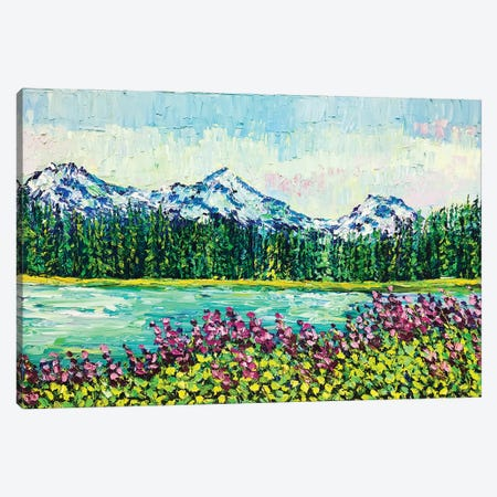Scott Lake Canvas Print #ERY34} by Eryn Tehan Canvas Wall Art