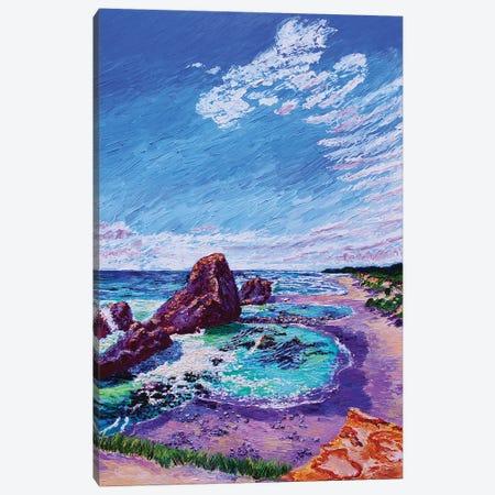 Seal Rock Wayside Canvas Print #ERY35} by Eryn Tehan Canvas Artwork