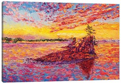 Siletz Bay Canvas Art Print