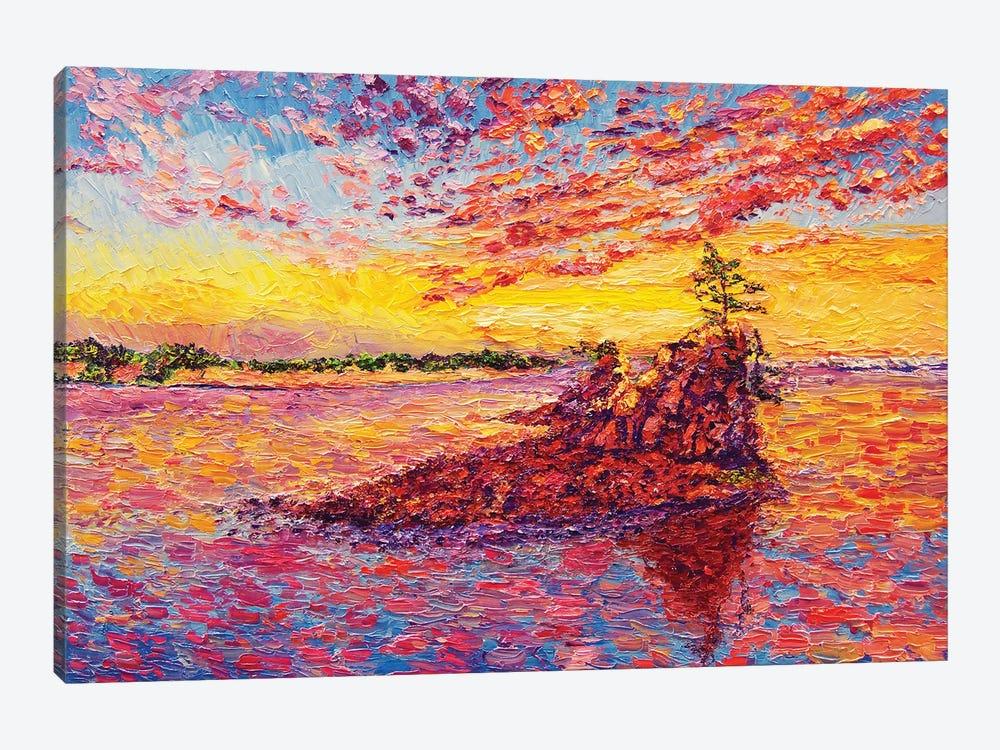 Siletz Bay by Eryn Tehan 1-piece Canvas Artwork