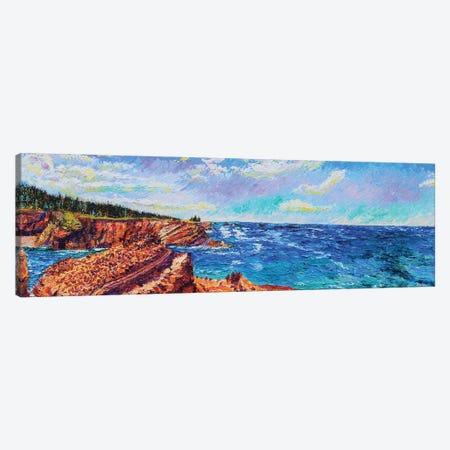 Sunset Bay State Park Canvas Print #ERY46} by Eryn Tehan Art Print