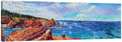 Sunset Bay State Park Canvas Art Print