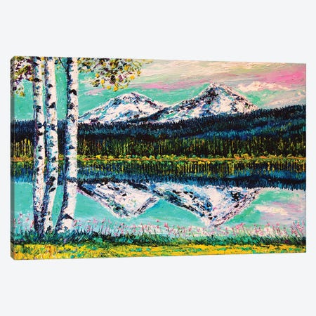 Views From The Lodge Canvas Print #ERY55} by Eryn Tehan Canvas Wall Art