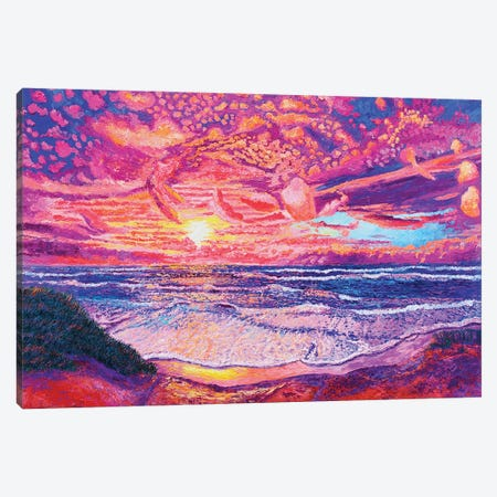 Vivid Skies Canvas Print #ERY56} by Eryn Tehan Canvas Wall Art
