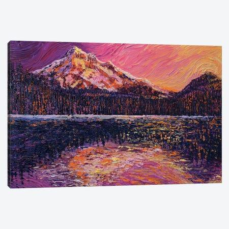 Evening Reflections Canvas Print #ERY9} by Eryn Tehan Art Print
