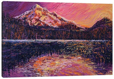 Evening Reflections Canvas Art Print