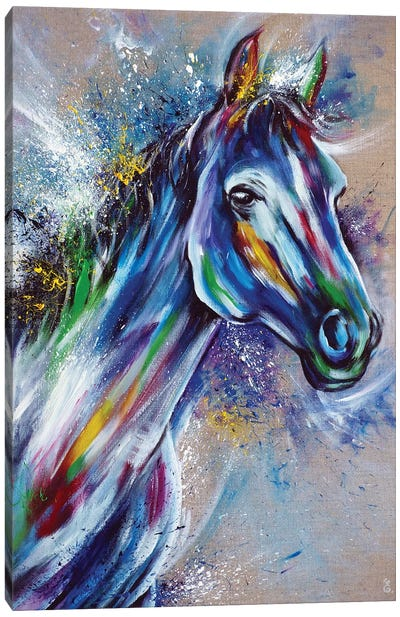 Volverine Canvas Art Print