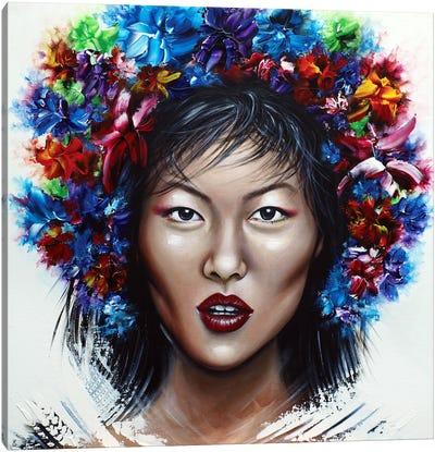 Beautiful Liu Canvas Art Print