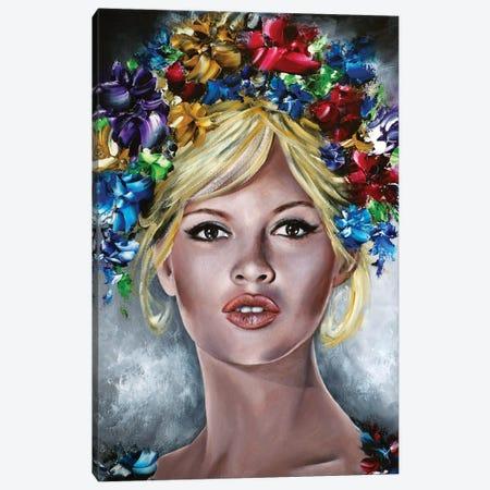 Brigitte Canvas Print #ESB21} by Estelle Barbet Canvas Artwork