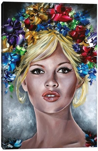 Brigitte Canvas Art Print