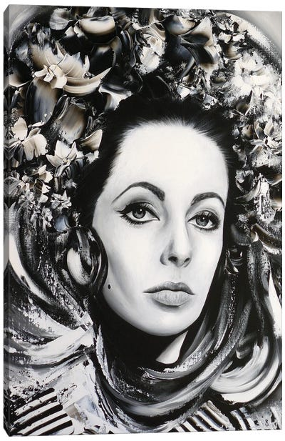 Elizabeth Canvas Art Print
