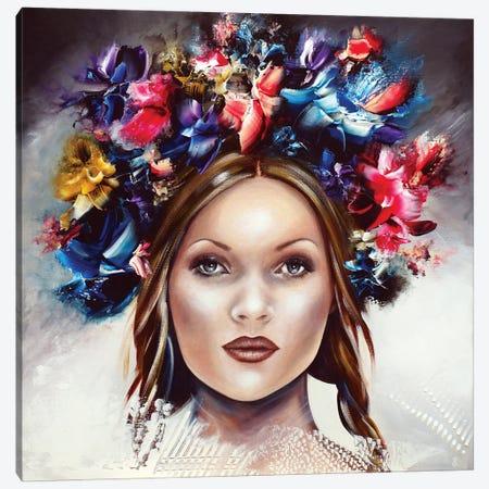 Kate Canvas Print #ESB30} by Estelle Barbet Art Print