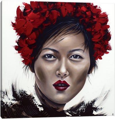 Liu Canvas Art Print