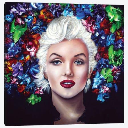 Marilyn Forever Canvas Print #ESB33} by Estelle Barbet Canvas Print