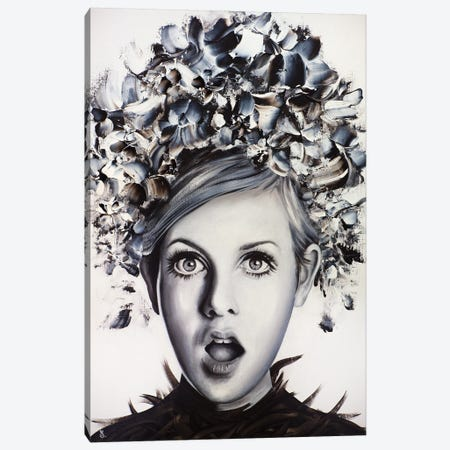 Twiggy Canvas Print #ESB39} by Estelle Barbet Canvas Print