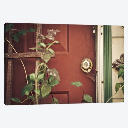 Garden Door Canvas Print #ESC17} by Eric Schech Canvas Print