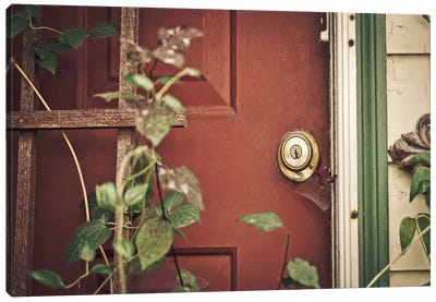 Garden Door Canvas Art Print