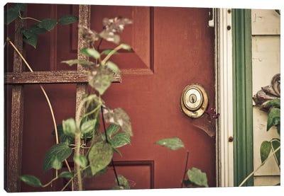 Garden Door Canvas Print #ESC17