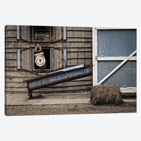 Farm Contraptions Canvas Print #ESC23} by Eric Schech Canvas Art Print