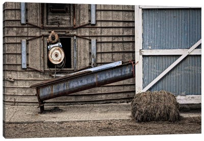 Farm Contraptions Canvas Art Print