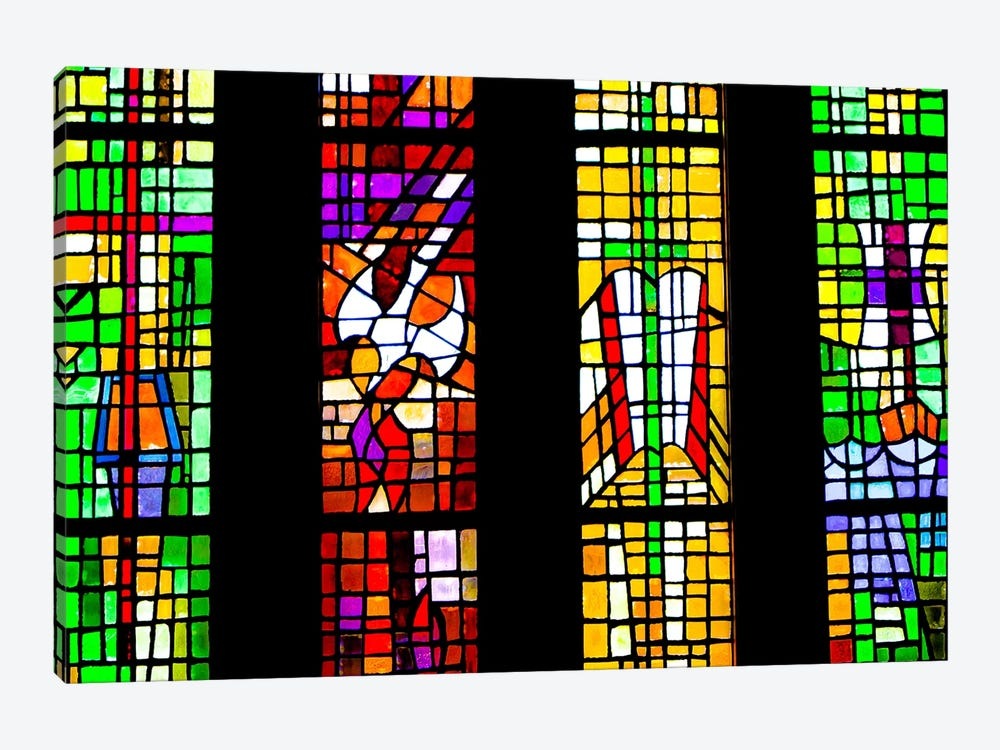 Stained Glass by Eric Schech 1-piece Art Print